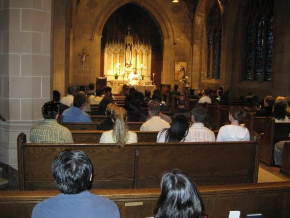 Monthly Mass in the Lady Chapel